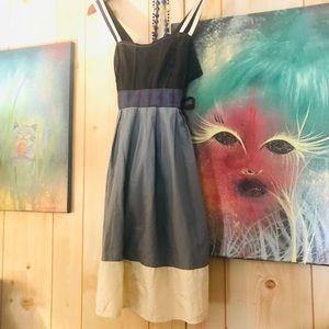 Lux dress with tie waist